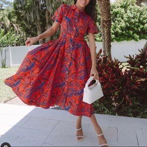 NWT ALEXIS tropical dress Target